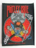 Motley Crue - 'Allister Fiend' Woven Patch